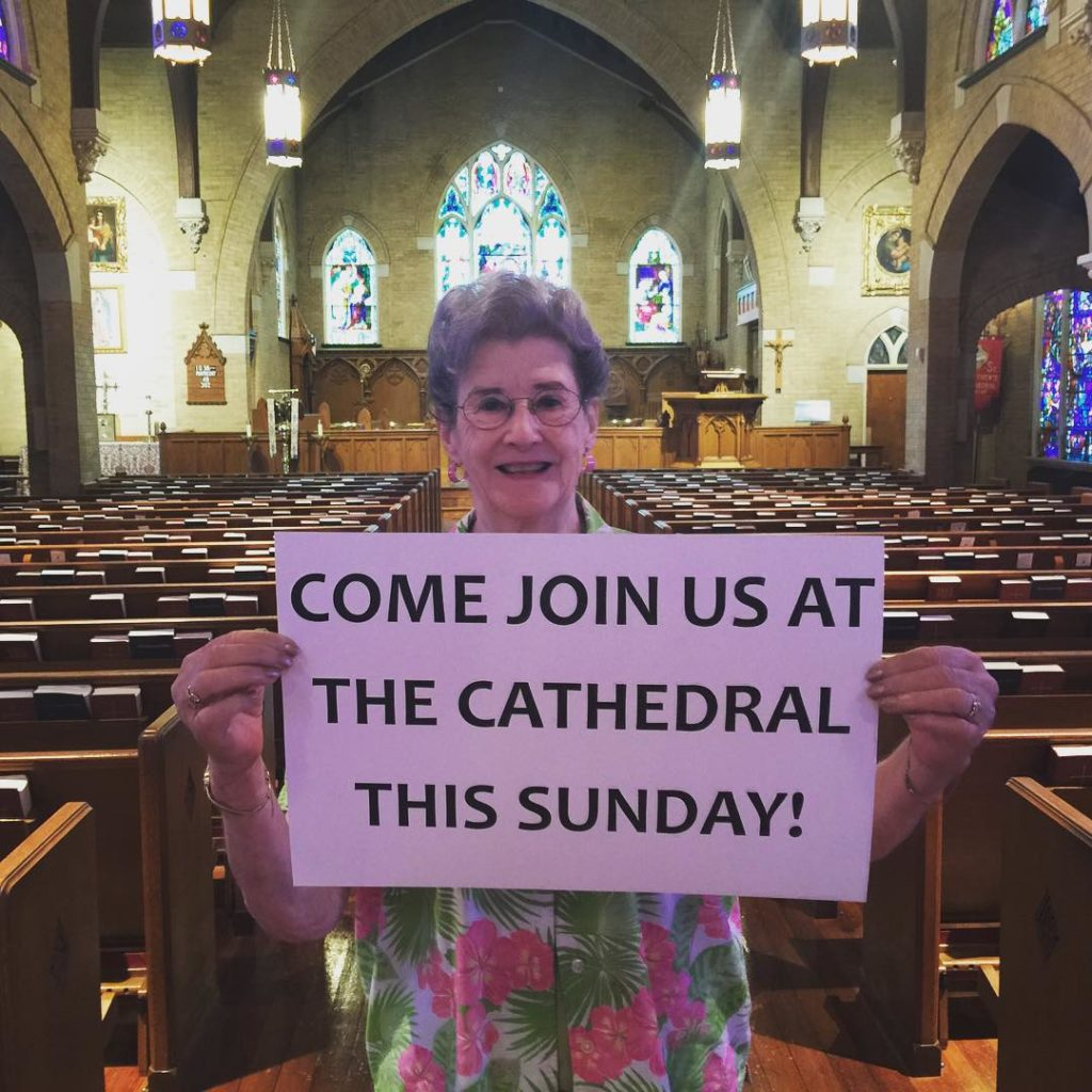 Join us Sunday All are welcome! joinus stmatthewscathedral episcopal episcopaldioceseofdallas