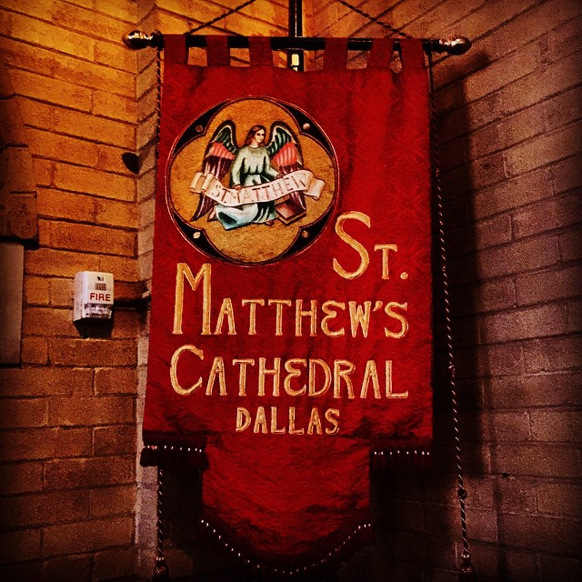 We are excited to be on Instagram! stmatthewscathedral dallas banner