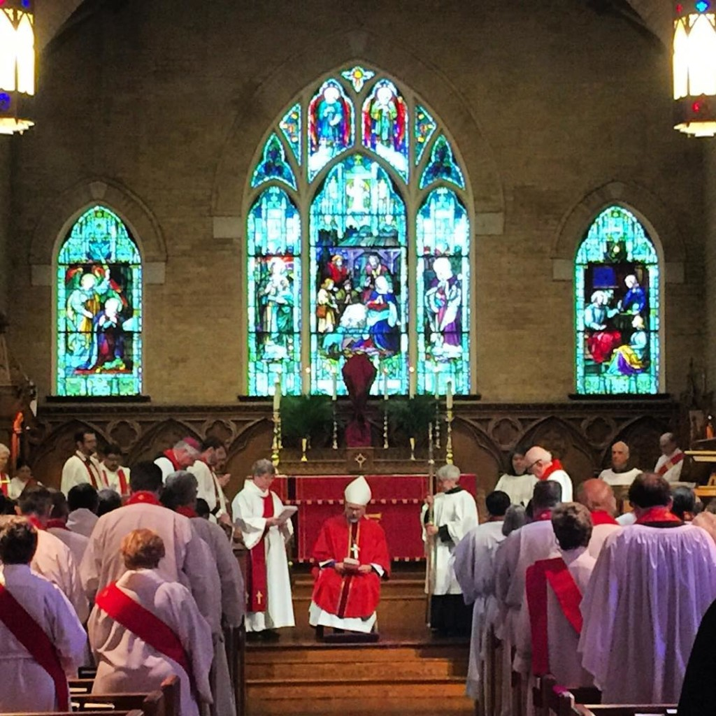 Clergy Renewal of Vows Holy Week 2016 stmatthewscathedraldallas clergy episcopalhellip